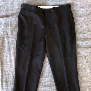 Brooks brothers red fleece slim fit wool trouser